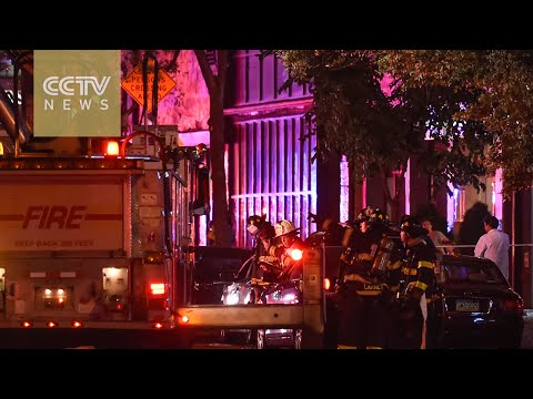 At least 25 injured in Chelsea explosion in New York
