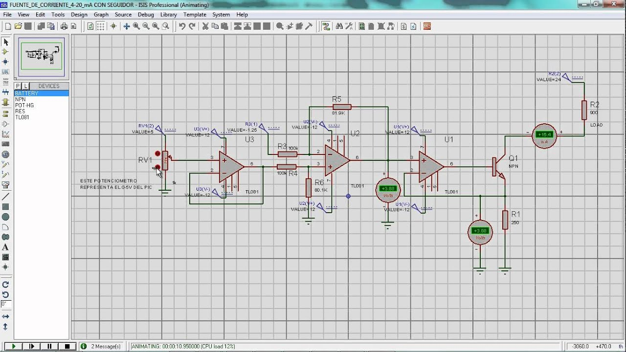4 20ma Source Circuit Diagram Schematics Current Loop Wiring 20 Ma Youtube Alternating