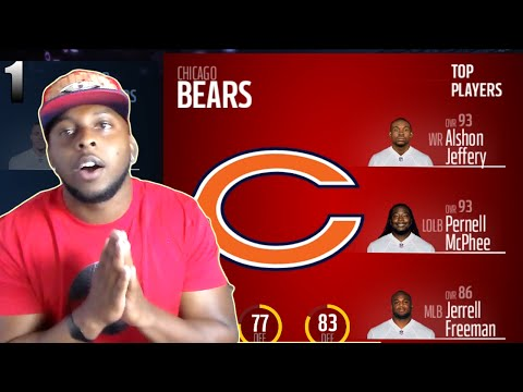 MADDEN 17  FRANCHISE MODE EP 1  CHICAGO BEARS (CFM SETUP VIDEO)
