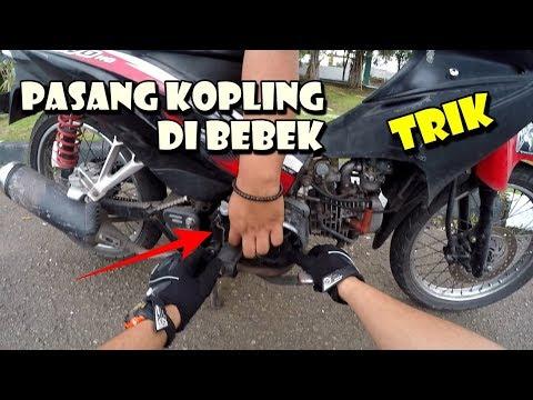 TRIK PASANG KOPLING DI BEBEK & KUPAS SPEK MOTOR BEBEK FREESTYLE MODIF SIMPEL