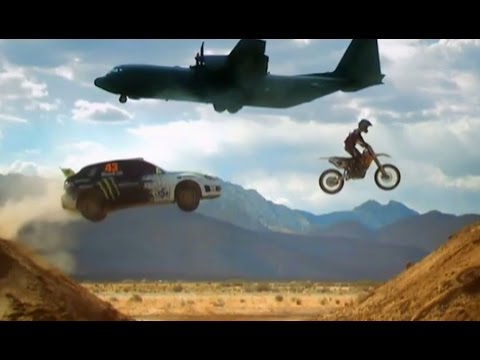 Ken Block Airfield Rallying (HQ) - Top Gear - BBC