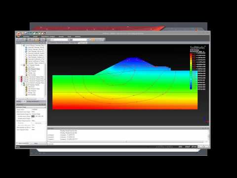 Seepage and Stress Analysis for Dam Stability  using FEM