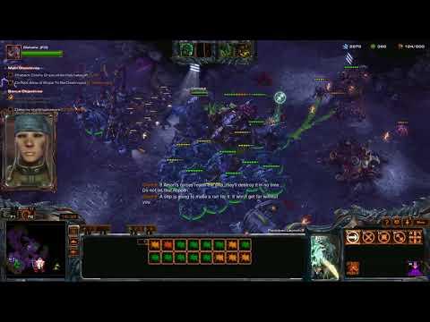 StarCraft 2 Co-op - Dehaka Level 9.2