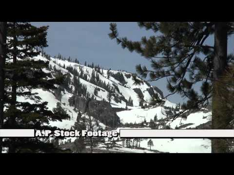 HD Stock Footage Tahoe National Forest