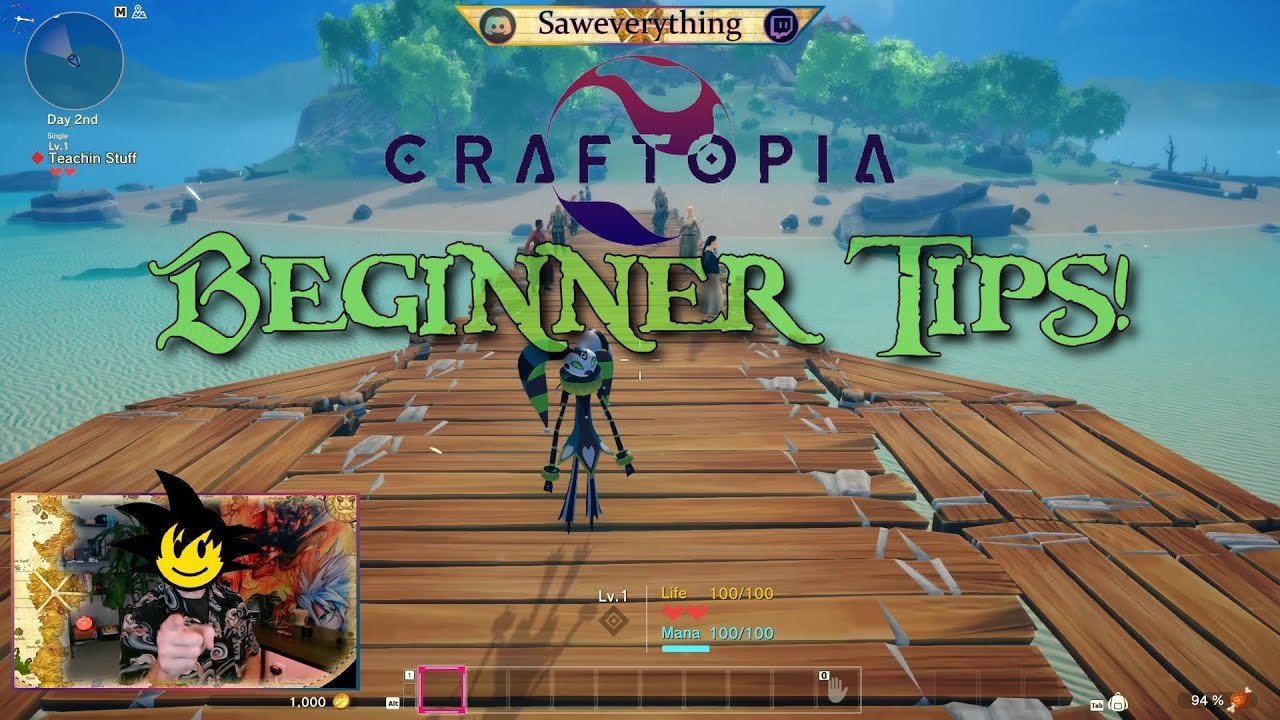 Download 5 Tips to Conquer Craftopia!