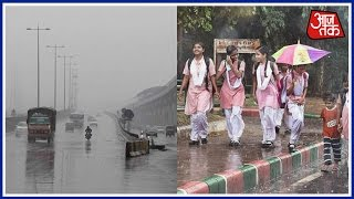 Delhi Rain: Temperature Drops In City, Much-Awaited Respite For People