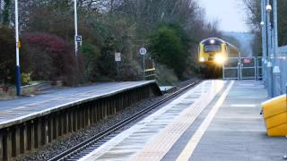 Class 43 HST (NMT) Passes Templecombe On Thursday 11th December 2014