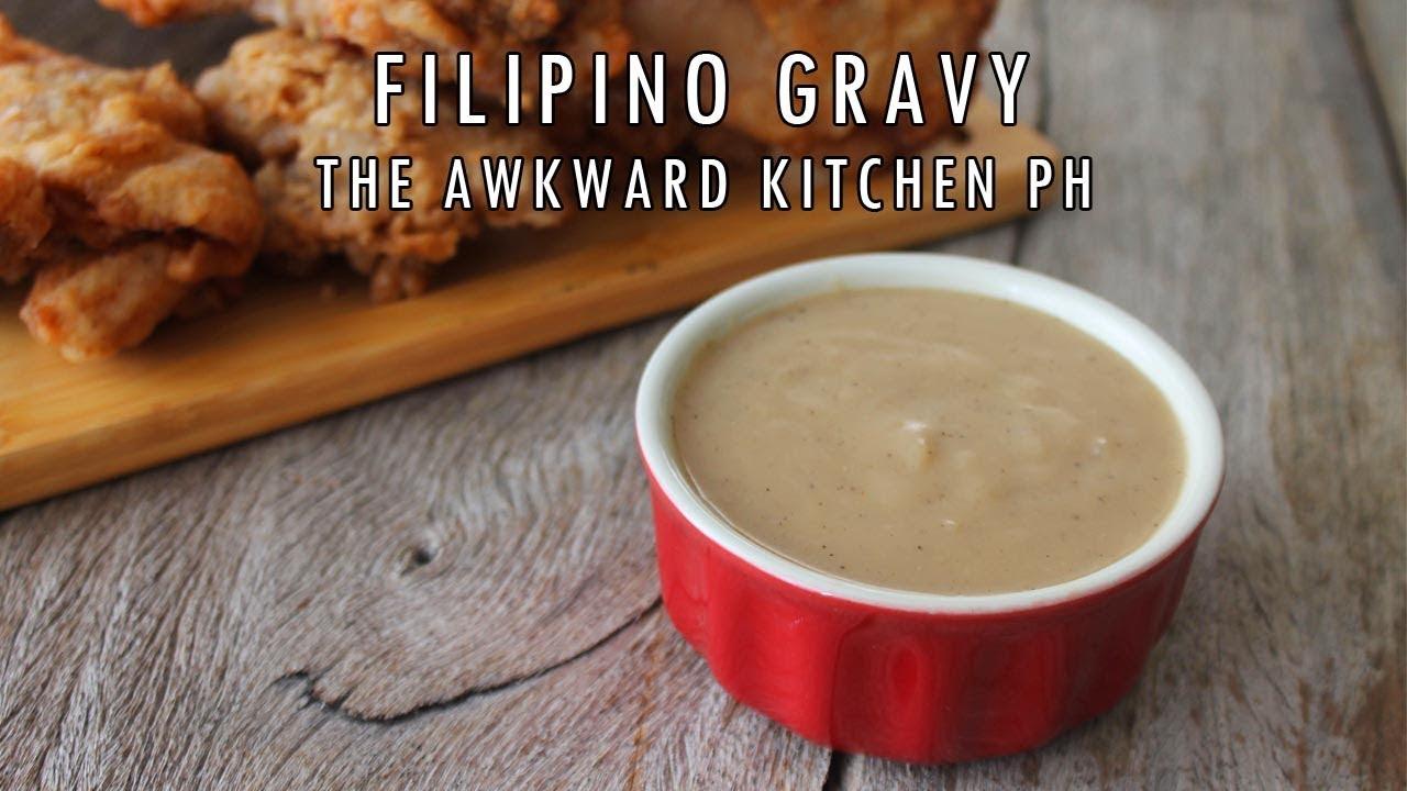 Filipino Gravy How To Make Jollibee Gravy Style Inspired Recipe Youtube