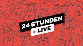 24h Stream! Part 2 🔴LIVE | ungespielt