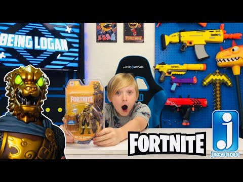 BATTLE HOUND FACE REVEAL - Unboxing Battle Hound Fortnite Action Figure From Jazwares Toys