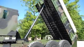 M1070 Oshkosh 8x8 Dump truck 2005 rebuild Super nice C&C Equipment 812-336-2894