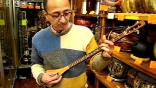 川合さんミンミン演奏1@民族楽器コイズミ