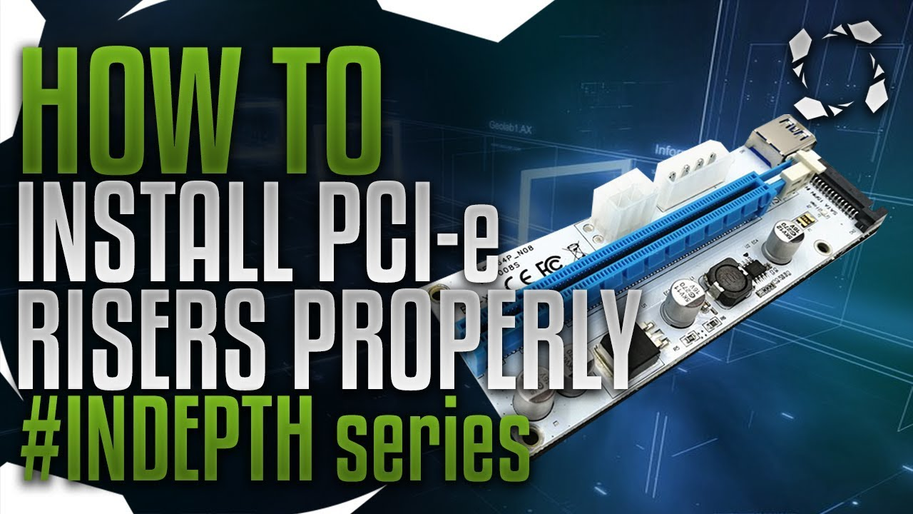 How To Install Pcie Mining Risers Properly Indepth Series Youtube Ninja 250 Wiring Diagram