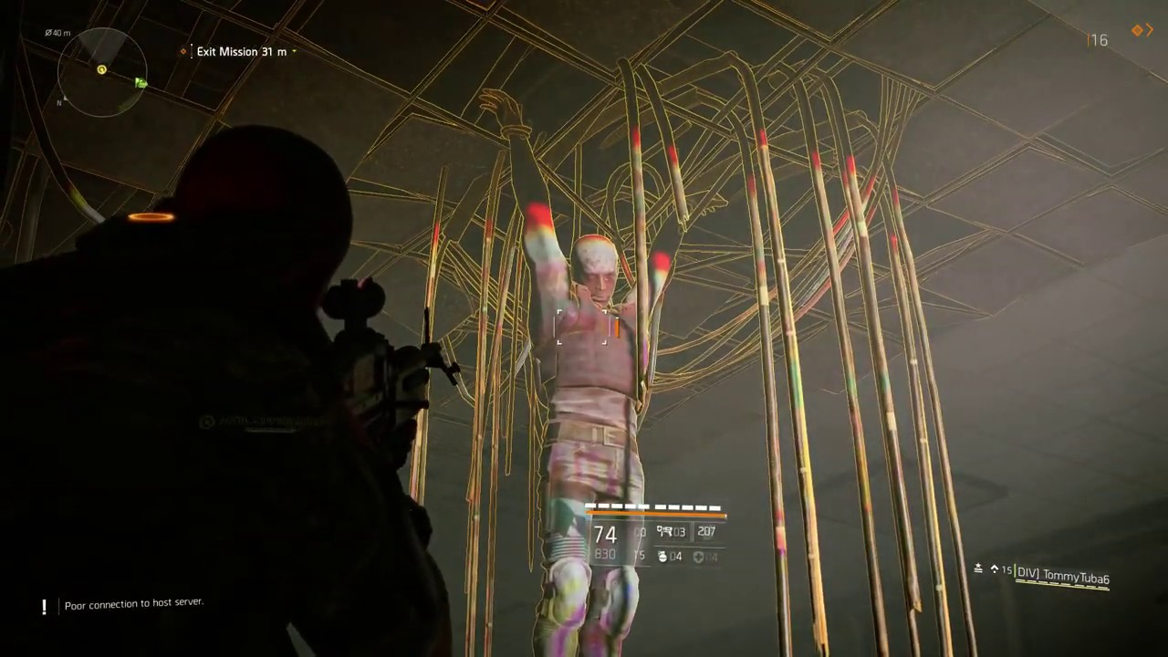 THE DIVISION 2 HUNTER COULD HAVE KILLED US