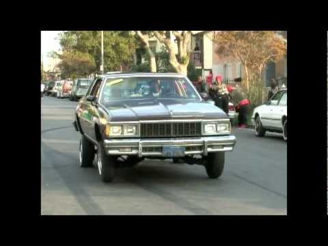 Thumbnail: Chevy Caprice Classic lowrider on hydraulics in South Los Angeles