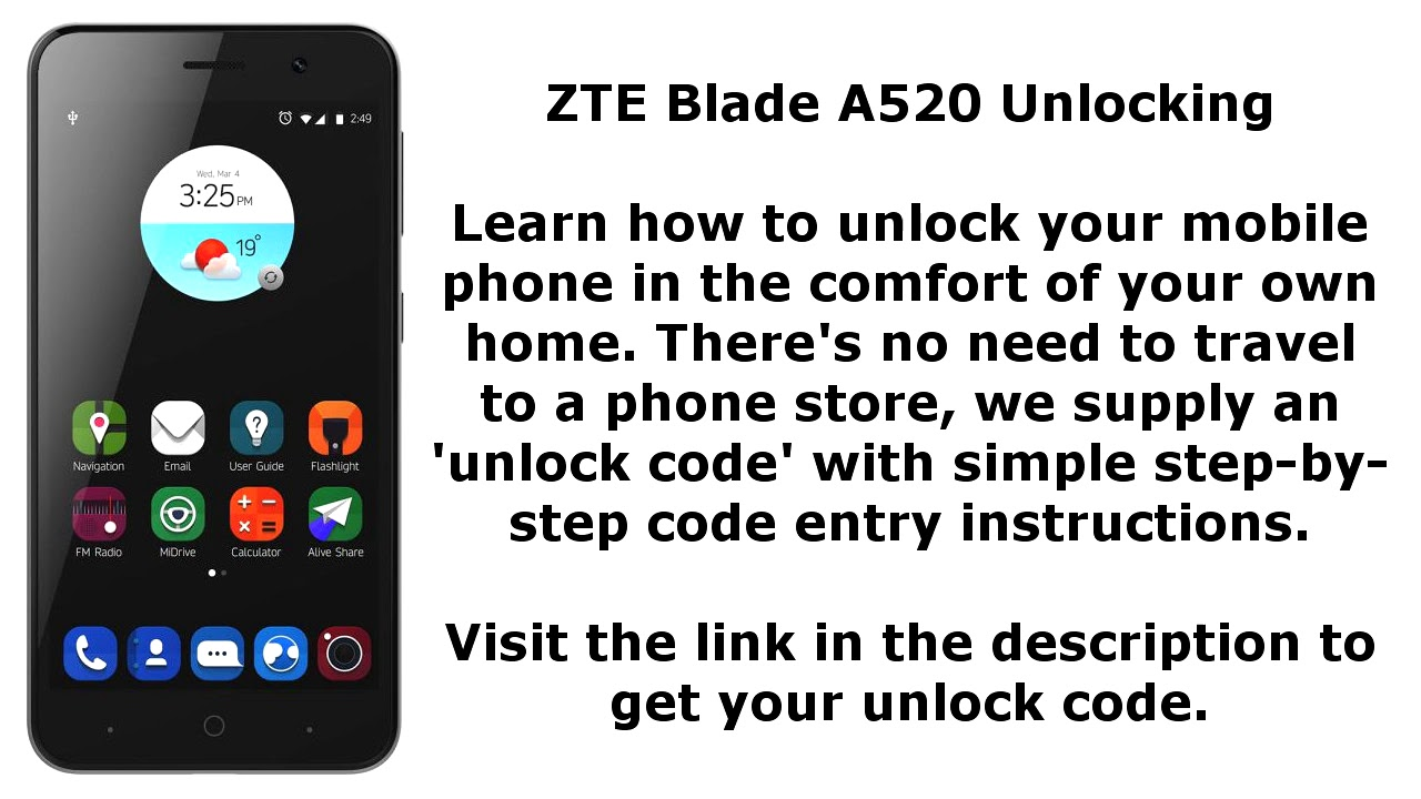 Zte Blade A520 Network Videos - Waoweo