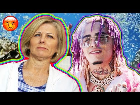 Mom REACTS to Lil Pump - ESSKEETIT    LOL