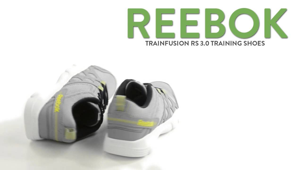 9da811d2d7b Reebok TrainFusion RS 3.0 Training Shoes - Leather (For Men) - YouTube