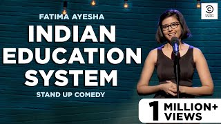 Engineering, Indian Education System & Falguni Pathak | Stand up Comedy by Fatima Ayesha