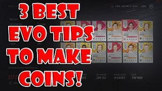 3 Best Tips to Maximize Coins Buying/Selling EVOs !NHL 19