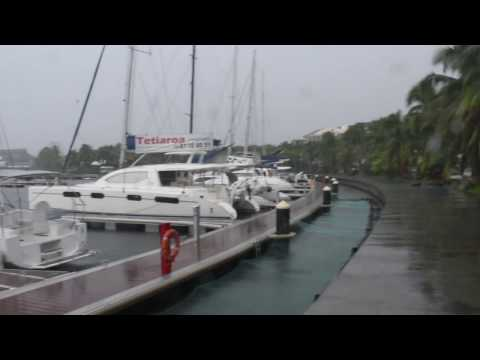 Papeete, Tahiti, French Polynesia - Papeete Waterfront HD (2017)