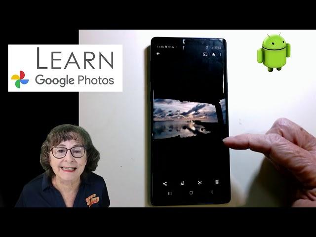 Quick Tour of Google Photos Tutorial Video 643