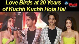 Janhvi Kapoor and Ishaan Khatter make a Zingaat pair at the celebration party hosted by Karan Johar