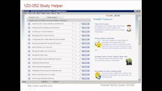 uCertify Oracle 1Z0-052 Practice Test