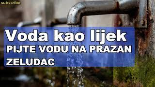 Voda kao lijek – PIJTE VODU NA PRAZAN ZELUDAC