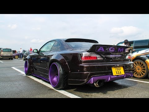 Widebody Nissan Silvia S15 - Sounds, start-up, ...