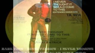 RARE FUNK - RIKKI PATRICK - I NEVER THOUGHT IT WOULD COME THIS BY DR JEKYL WWW.BOOGIE-STAR.COM