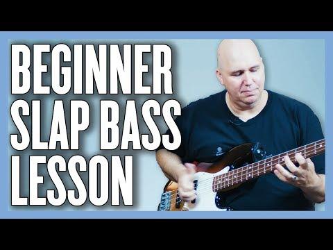 Beginner Slap Bass Lesson w Phillip McKnight