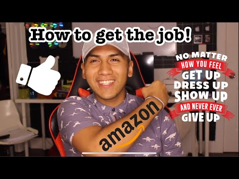 How to get hired at Amazon 16$ an hour | Amazon Warehouse Fulfillment Associate Application Tips !