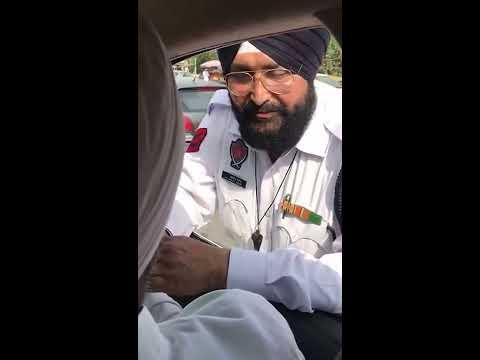 Punjab finance minister Manpreet Singh Badal catches cop taking bribe