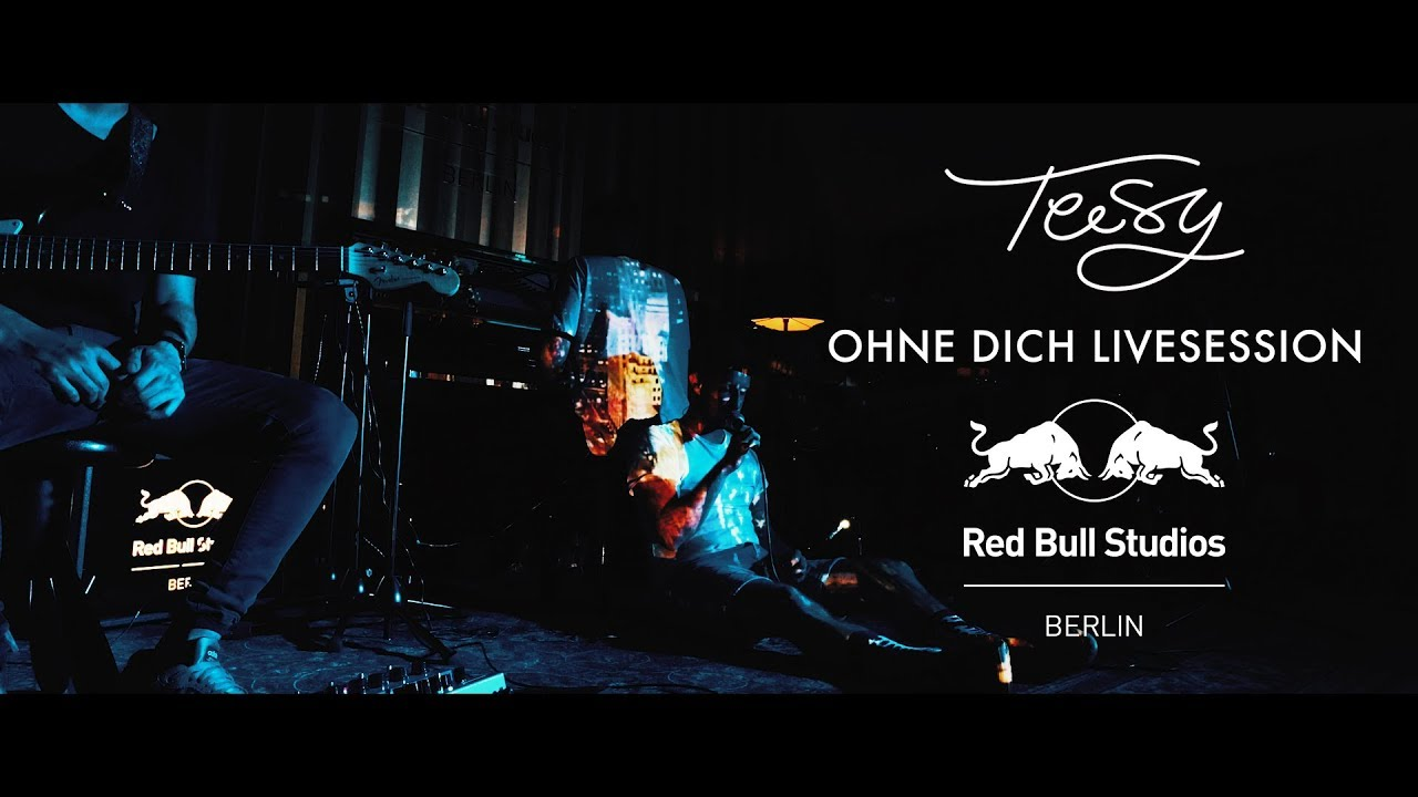teesy ohne dich livesession red bull studios berlin. Black Bedroom Furniture Sets. Home Design Ideas