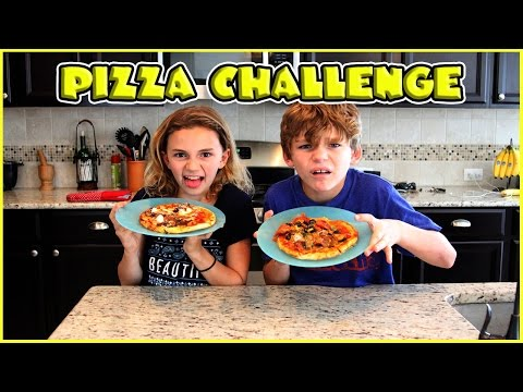PIZZA CHALLENGE - Kids Edition | We Are The Davises