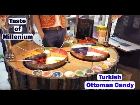 Tasty Turkish Ottoman Candy Live in Dubai Shopping Festival.