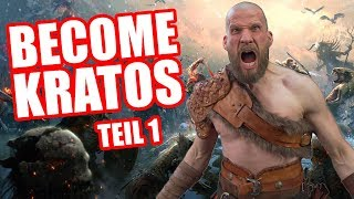 Ich werde KRATOS! God of War - Become Kratos Teil 1! [Werbevideo]