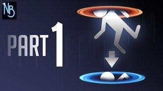 Portal Walkthrough Part 1 No Commentary