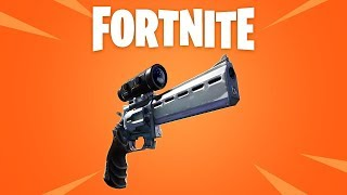 NEW SCOPED REVOLVER! (Fortnite New Update Coming Soon)