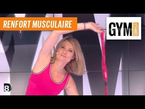 Renforcement avec élastiques - Renforcement musculaire - 172 - YouTube