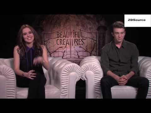 Zoey Deutch & Thomas Mann Beautiful Creatures Interview