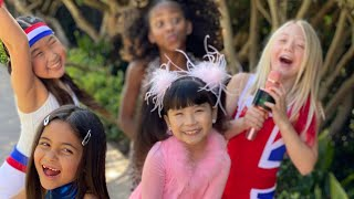 AVA FOLEY SINGS WANNABE SONG BY SPICE GIRLS WITH EVERLEIGH, CHACHA, KAMRYN AND KHLOE! (AMAZING!)