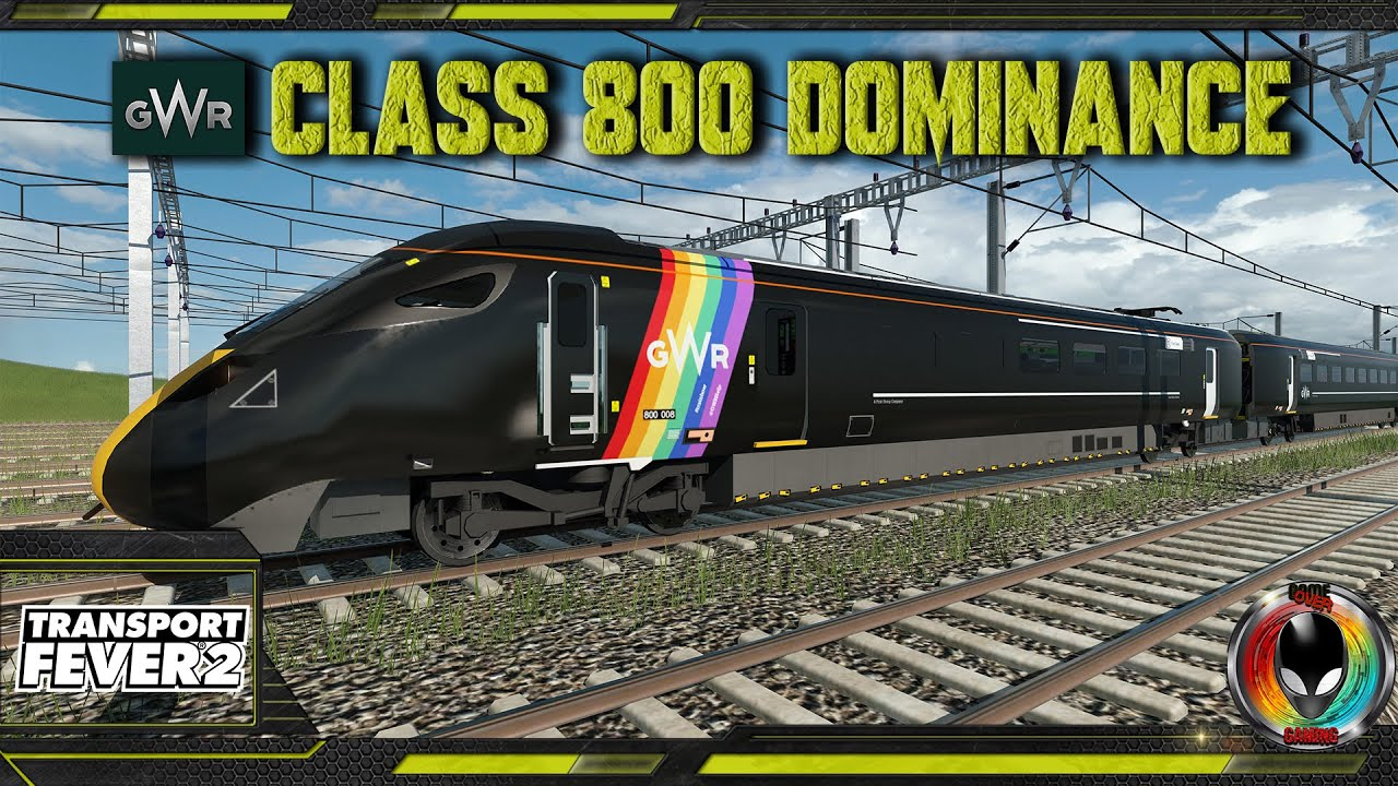 GWR Class 800 Dominance (Bonus Video), Transport Fever 2 Race Series