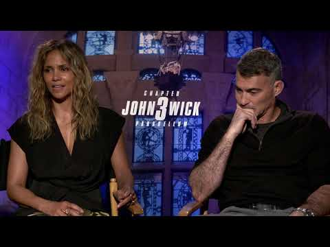 John Wick 3: Halle Berry & Director Chad Stahelski Movie Interview