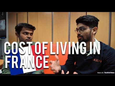 COST OF LIVING IN PARIS, FRANCE AS A STUDENT
