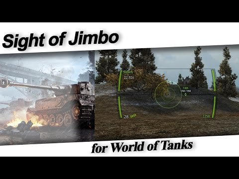 [9.19.1.2] J1mB0's Crosshair (Sight) Mod | World of Tanks (Download In Description!!!!)