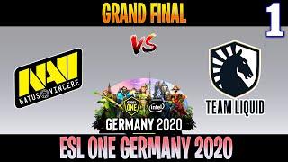 NAVI vs Liquid Game 1 | Bo5 | GRAND FINAL ESL ONE Germany 2020 | DOTA 2 LIVE