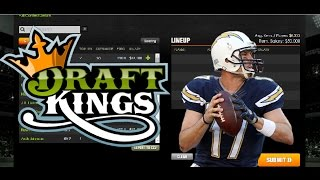 NFL DRAFTKINGS WEEK 15 LINEUP/PICKS