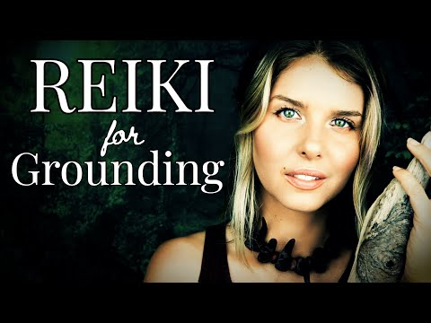 ASMR Reiki For Grounding/Plucking Negative Energy/Reiki Master Centering Session With Crystals, Sage